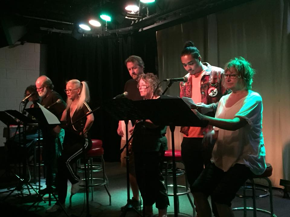 The staged reading of The Cracked Toilet Incident