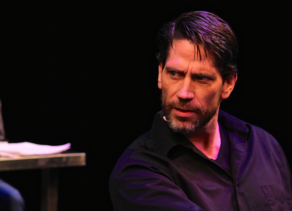 Brian Shea plays William Shakespeare in my scene at the 2015 New Play Summit.