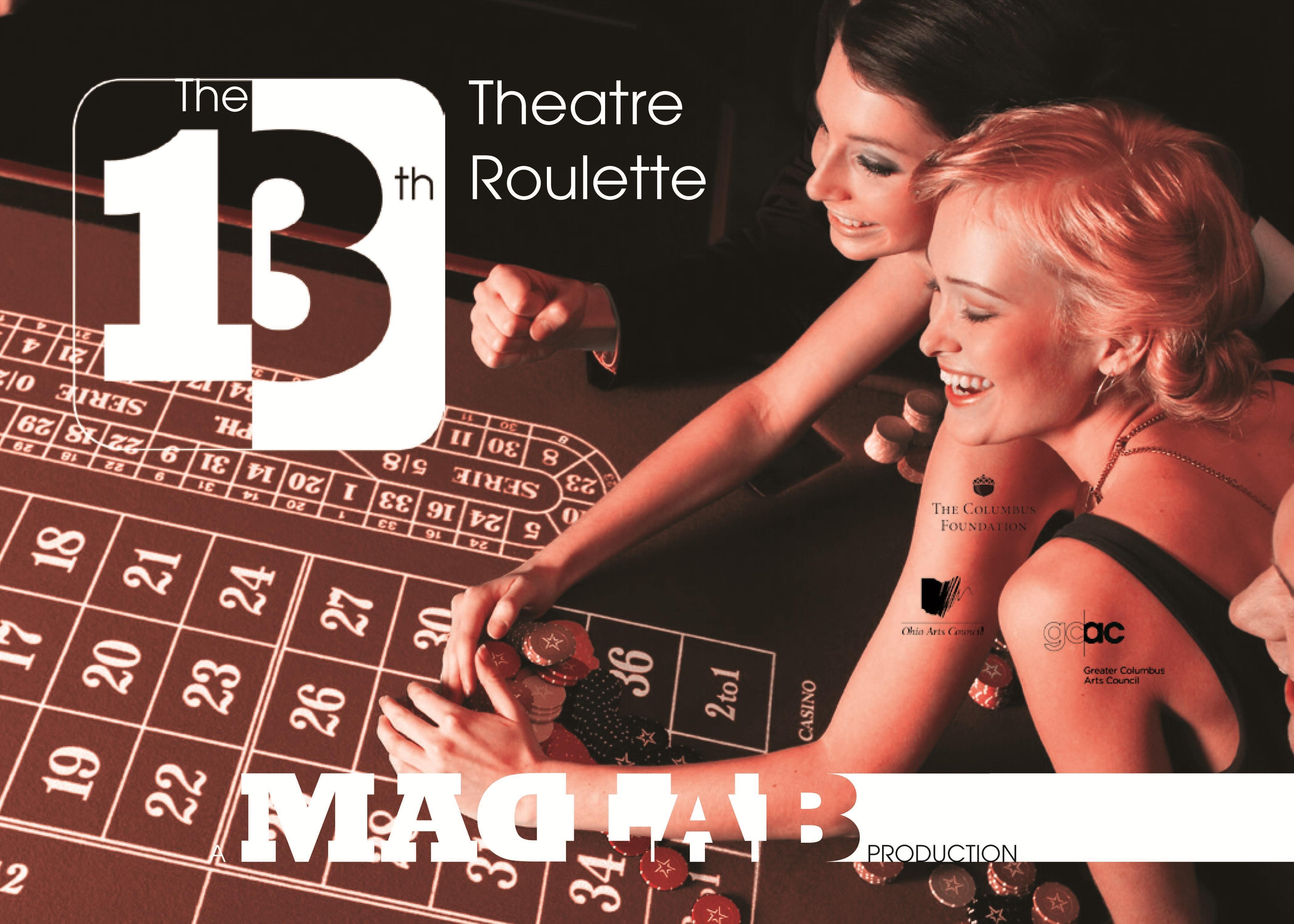 Theatre Roulette flyer